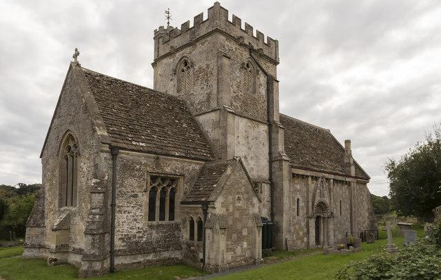 All Saints' church, Lullington