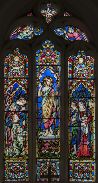 East Window, All Saints' church, Lullington