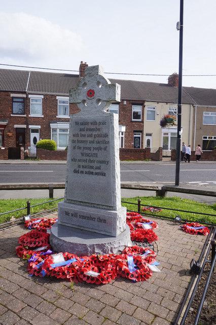 War Memorial, Wingate