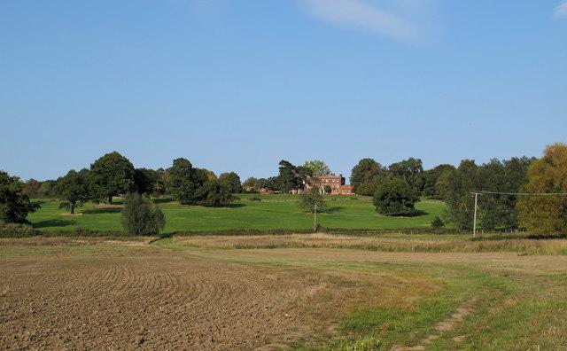 Looking towards Kelvedon Hall, Kelvedon Hatch