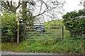 SD5597 : Gate on the Dales Way, Patton Bridge, Cumbria by Rich Tea