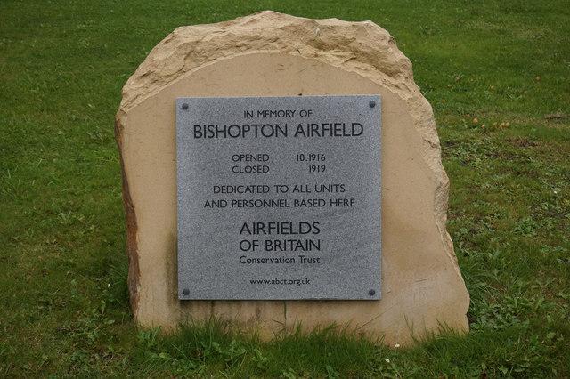 Bishopton Airfield Memorial