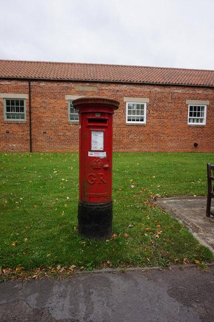 Georgian post box on The Green, Bishopton
