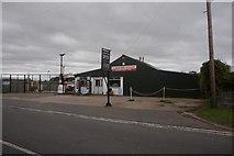 NZ3621 : Bishopton Service Garage, High Street, Bishopton by Ian S