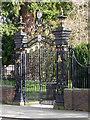SO8932 : Abbey gates, Tewkesbury by Chris Allen