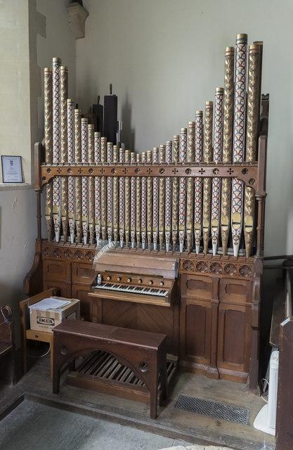 Organ, All Saints' church, Lullington