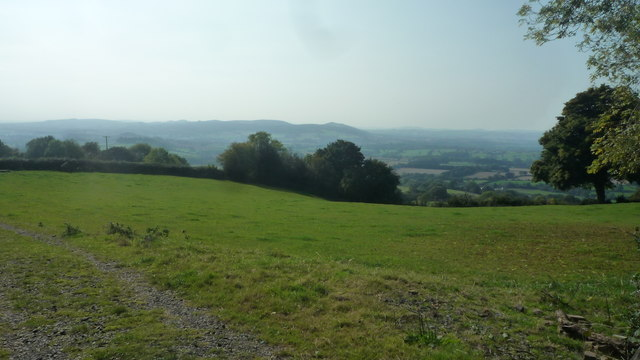 Countryside at Knowbury