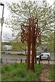 TQ5942 : Rusty sculpture by N Chadwick