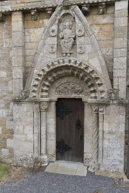 North Door, All Saints' church, Lullington