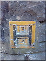 SH5872 : Hydrant marker on Garth Road, Bangor by Meirion