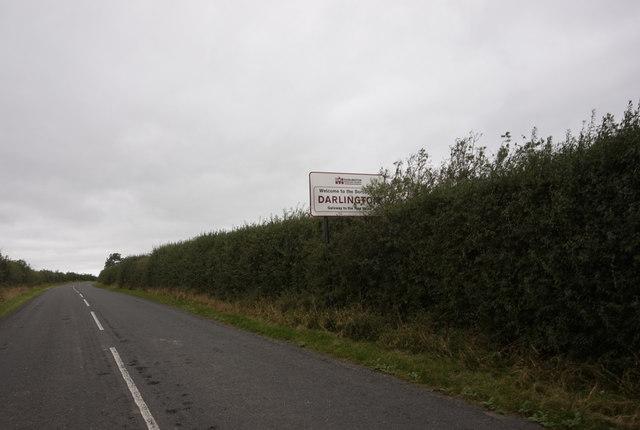 Entering Darlington