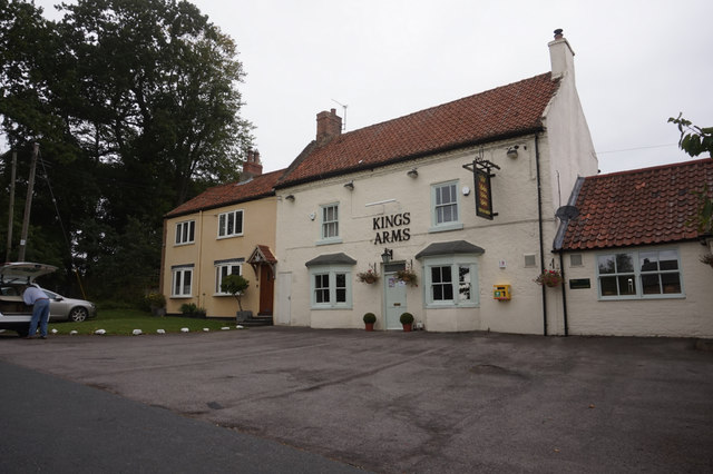 Kings Arms public house, Great Stainton