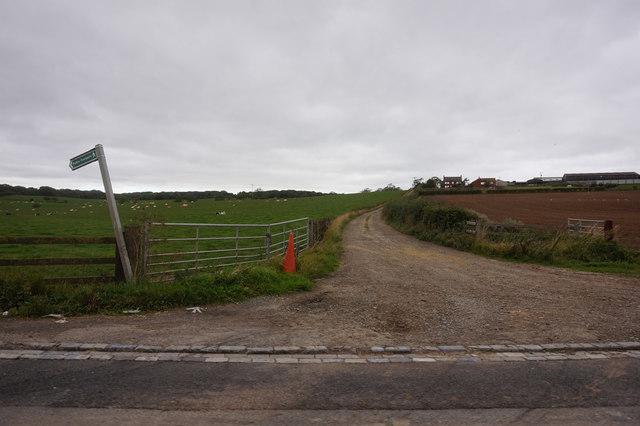 public right of way towards Viewley Hill Farm