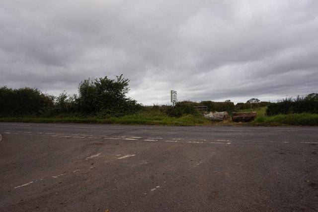 Junction of Darlington Bank Lane and Back Lane