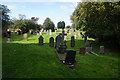 NZ2008 : Graveyard at St James the Great Church, Melsonby by Ian S