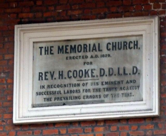 The Memorial Church