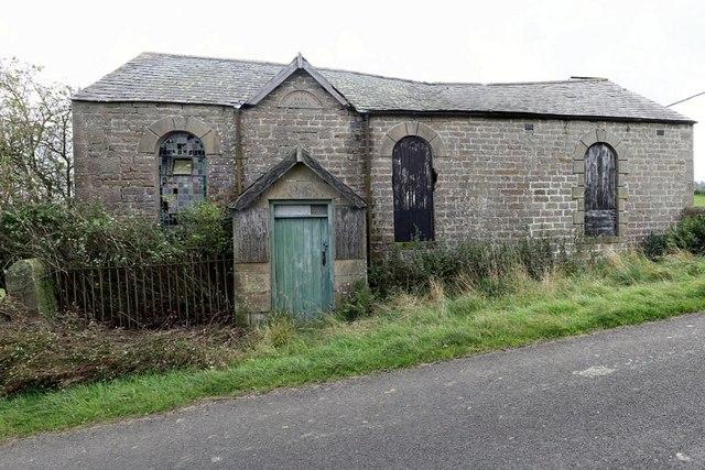 Primitive Methodist Chapel near High Wooley