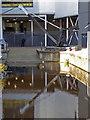 SE1416 : Huddersfield University and a preserved crane by Chris Allen