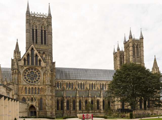 Lincoln Cathedral, north side