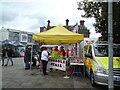 SJ9494 : Blood Bikes tombola by Gerald England
