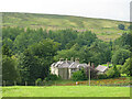 NY9442 : The Rookhope valley around the Old Vicarage by Mike Quinn