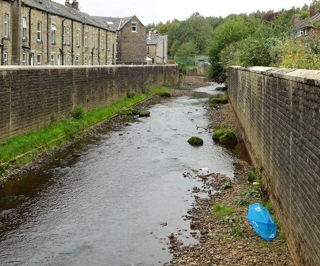 River Calder, Todmorden