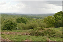 TQ5743 : Heavy shower seen in the distance by N Chadwick
