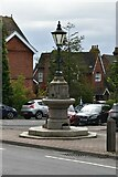 TQ5742 : Lamp support and drinking fountain by N Chadwick