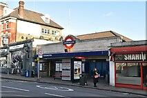 TQ2478 : West Kensington Station by N Chadwick