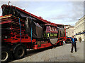 SP2864 : The Waltzers has arrived for the Mop Fair, Market Place, Warwick by Robin Stott