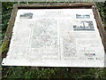 SU9295 : Information Board at Gatestakes Pond and Common (1) by David Hillas