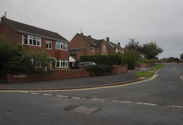 Elmfield Road off Croft Road