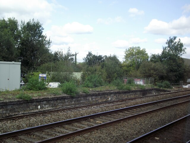 Disused platforms at a disused station