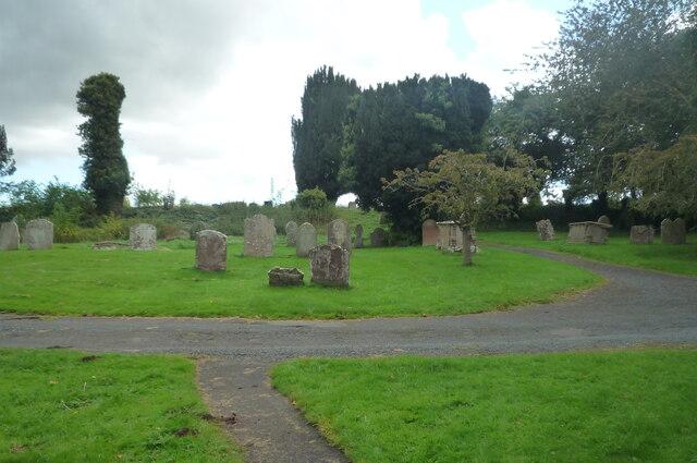 Churchyard at St. Mary's Church (Marden)