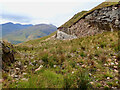 NN2162 : Scar left by the construction of the Loch Eilde Mòr hydro electric scheme by Mick Garratt