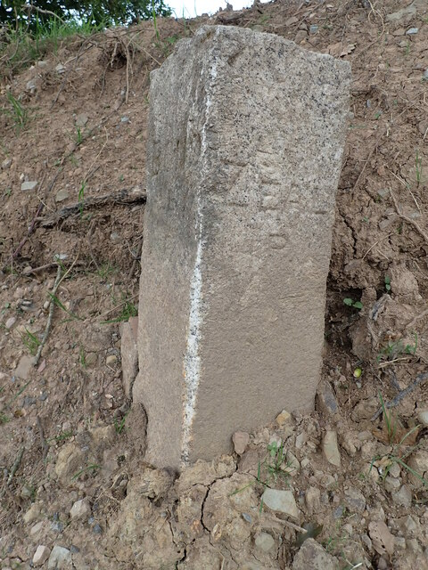 Boundary Stone on the way to Westworthy