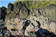 NX0986 : Serpentinised Rocks by Anne Burgess