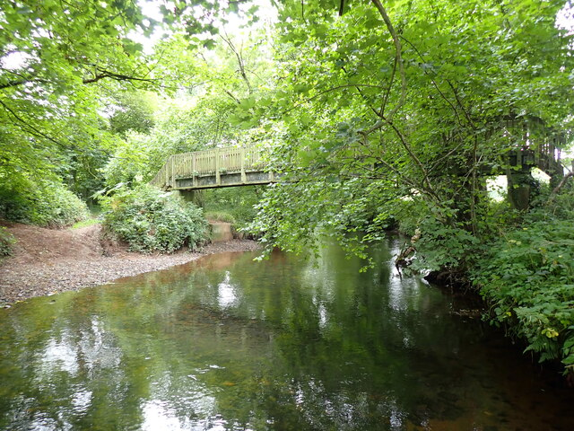 Footbridge over the River Taw