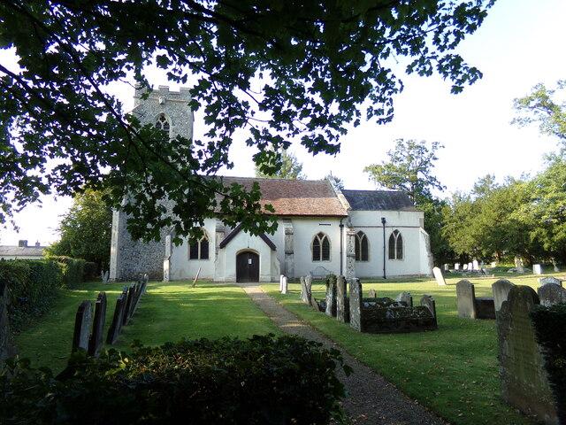 St. Mary's Church, Nedging
