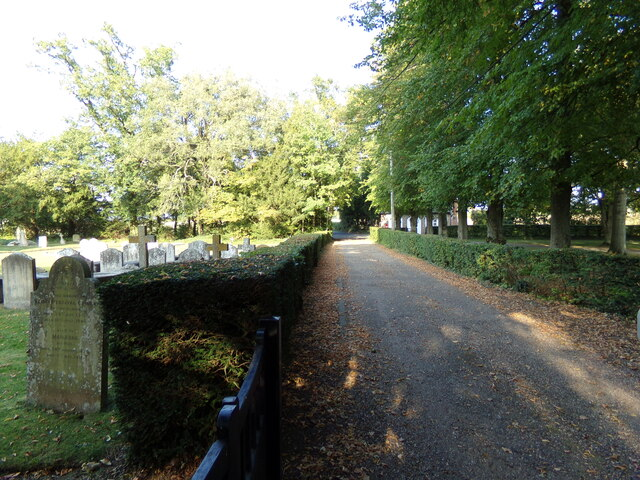 Footpath to Nedging Road