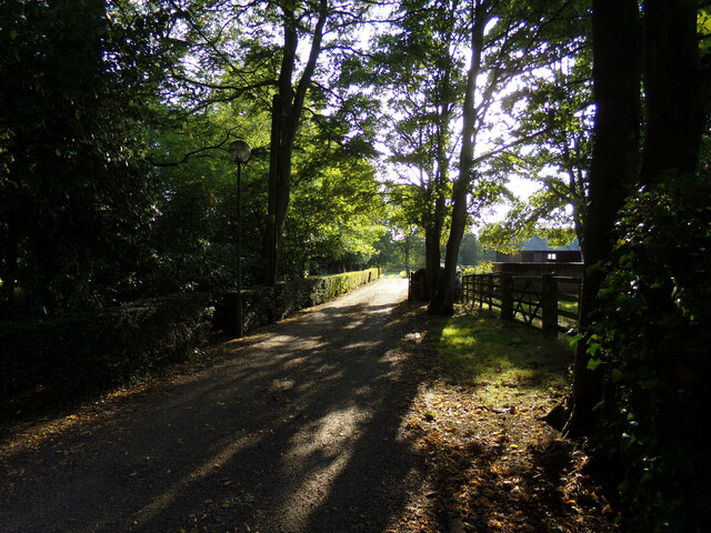 Footpath to the B1115 Hadleigh Road