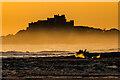 NU1339 : Sunrise on Ross Back Sands by Ian Capper