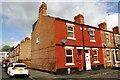 SK5738 : Glapton Road houses at Barnsley Terrace junction by Luke Shaw