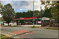 SD7807 : Texaco Service Station on Bury Road by David Dixon