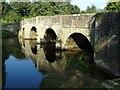 SO4073 : Leintwardine Bridge by Philip Halling