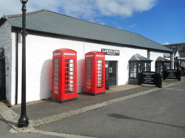 Land's End Phone Boxes
