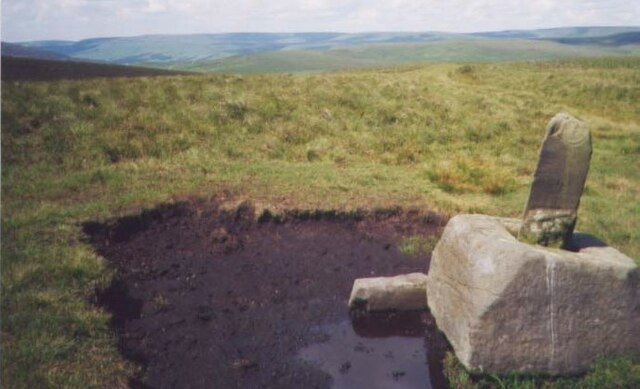 Old Wayside Cross by the Old Salt Road, south of the A628, Woodhead Road