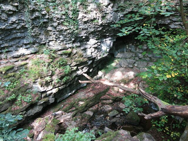 Cave above Shittlehope Burn