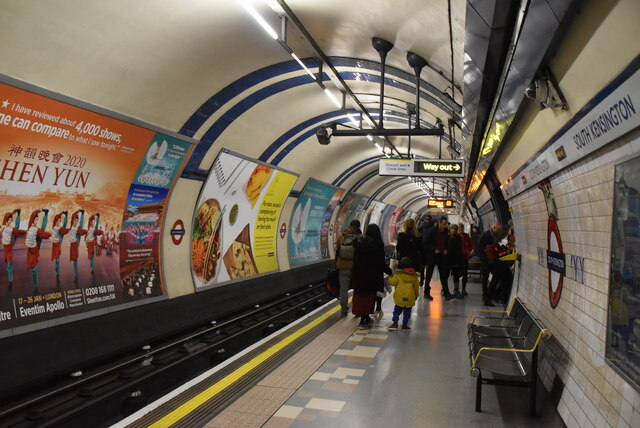Piccadilly Line, South Kensington Station