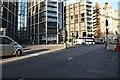 TQ2779 : Brompton Rd, Knightsbridge Junction by N Chadwick